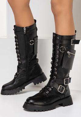 Дамски Ботинки Latika v2 черен